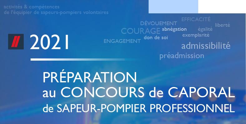 Préparation concours caporal; udsp42; sapeurs-pompiers